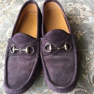 Men's Gucci Horsebit Driving shoes